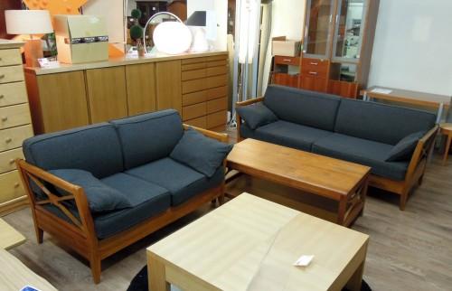 ☆中古家具入荷しました☆スキャンティーク・ソファ+テーブル