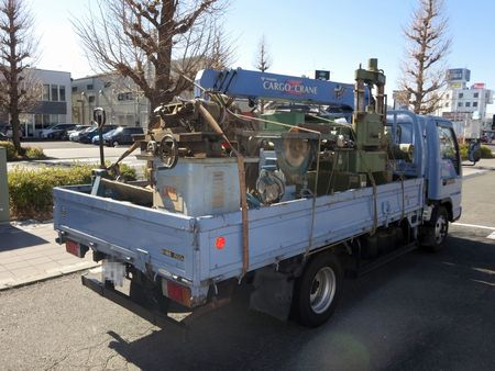 ★東京店★東京で木工機械の引き取り・買取!