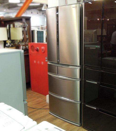 ●大阪店●パナソニック・フレンチドア冷蔵庫NR-F557XV-SS入荷