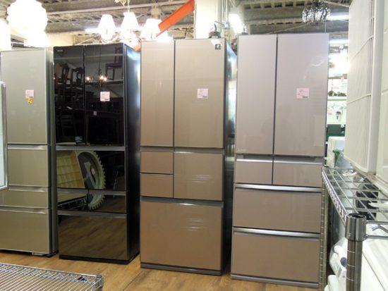 ●大阪店●中古家電 フレンチドア冷蔵庫数台入荷しました