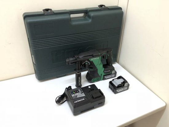 未使用 電動工具 買取いたしました!HITACHI/日立工機 コードレスロータリ ハンマードリルです!