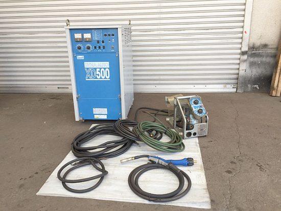 中古  CO2/MAG半自動溶接機 買取いたしました!ダイヘン CPXD-500(S-1) です!