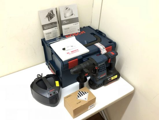 未使用品 電動工具 大量に買取いたしました!BOSCH/ボッシュ ハンマードリル 墨出し器等!