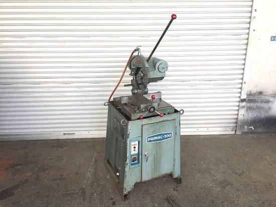 中古 工作機械 メタルソー 買取いたしました!大同興業 PRIMAC-300です!