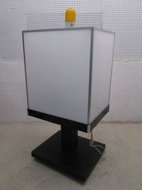LED回転灯付4面電飾看板買取しました!