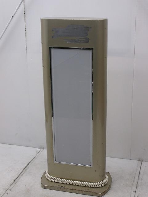 片面電光看板 W540×D300×H1300mm �A買取しました!