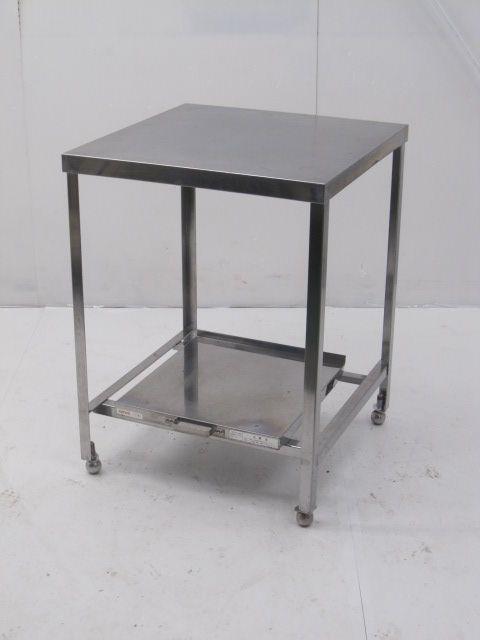 業務用ステンレス炊飯台付き調理台 W600×D600×H800mm買取しました!