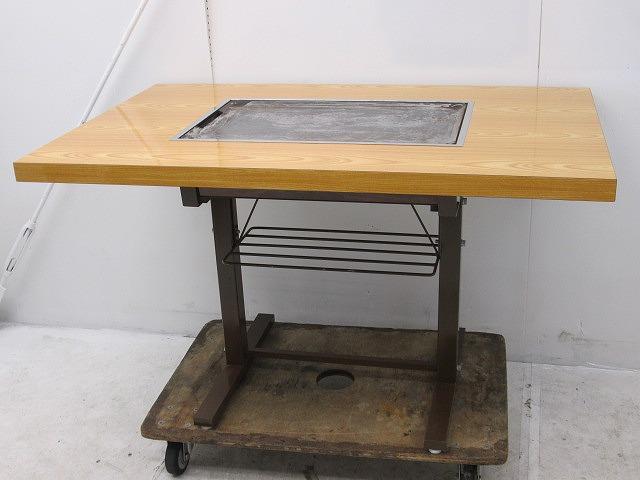 お好み焼きテーブル プロパンガス W1200×D750×H740mm �@買取しました!