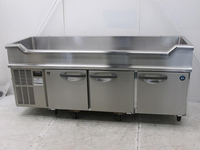 ホシザキ 舟形シンク付冷蔵コールドテーブル RW-180SNC 2017年製買取しました!