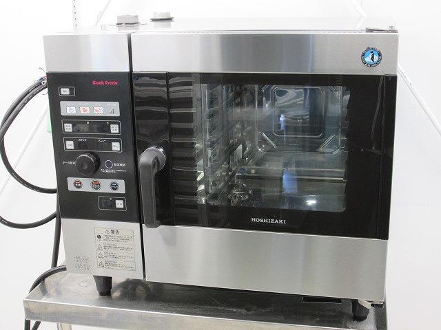 ホシザキ 電気スチームコンベクションオーブン MIC-5TB3 2015年製買取しました!