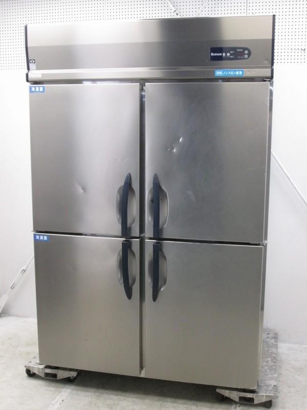 大和冷機 縦型冷凍冷蔵庫 483S2 2018年製買取しました!