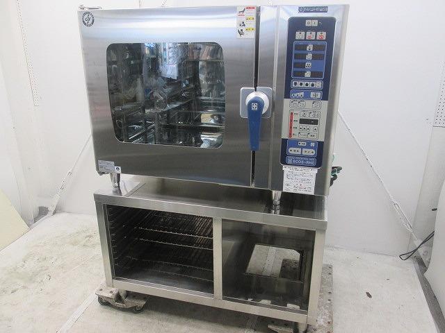 ニチワ 電気スチームコンベクションオーブン SCOS-610RHC-RSP 2014年製 架台付き買取しました!