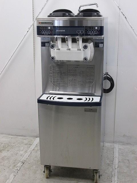 日世 自動殺菌ソフトクリームサーバー NA-6462WEH 2012年製買取しました!