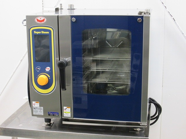 マルゼン 電気スチームコンベクションオーブン スーパースチームデラックスシリーズ SSC-05MD 2019年製買取しました!