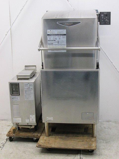 ホシザキ 食器洗浄機・ドアタイプ JWE-680A(60Hz) 都市ガス ガスブースター付き 2013年製買取しました!