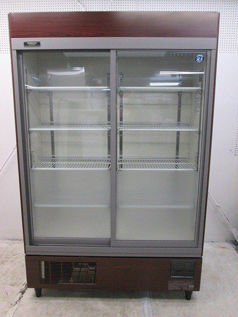 ホシザキ リーチイン冷蔵ショーケース RSC-120DT-B 2017年製買取しました!