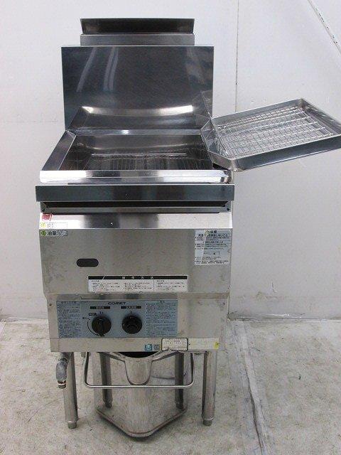 コメットカトウ ガスフライヤー CF2-GA18 プロパンガス 2012年製買取しました!