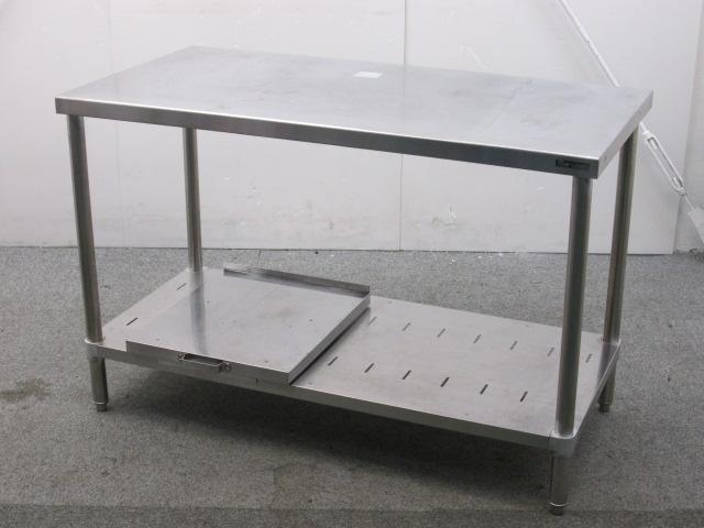 マルゼン 業務用 ステンレス炊飯台付き調理台 W1200×D600×H780mm