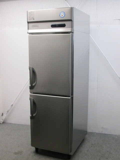 フクシマガリレイ 縦型冷凍冷蔵庫 URD-061PM6 2019年製買取しました!