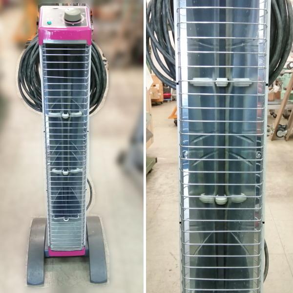 ダイキン DAIKIN  遠赤外線ヒーター セラムヒート 単相200V 三相200Vプラグ付き買取しました!