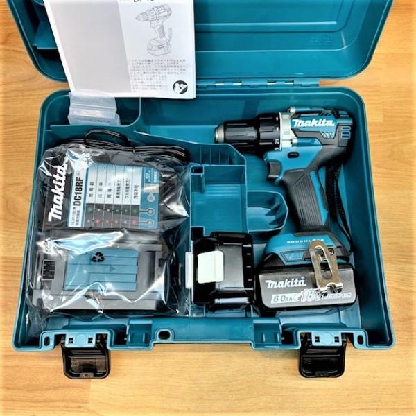makita/マキタ  18V充電式ドライバドリル 6.0Ah買取しました!