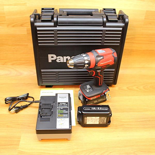 パナソニック/Panasonic 18V/5.0Ah 充電ドリルドライバー 買取しました!