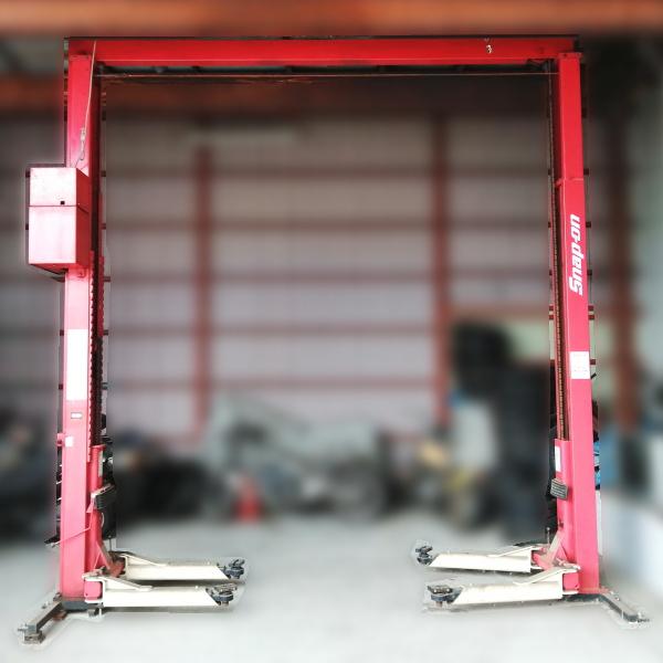スギヤス ビシャモン 3トン 3t  3ton 門型リフト 2柱リフト カーリフト 買取しました!