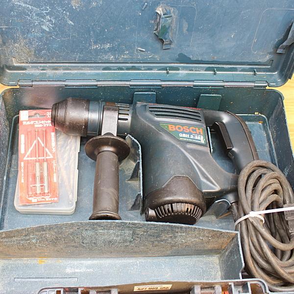 ボッシュ BOSCH  28mmハンマードリル SDSプラスシャンク買取しました!