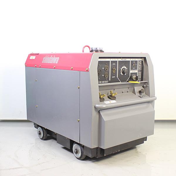 新ダイワ shindaiwa  200A 防音型 ディーゼルエンジン溶接機 エンジンウェルダー買取しました!