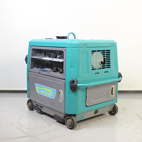 デンヨー DENYO  防音型ガソリンエンジン溶接機 エンジンウェルダー 買取しました!
