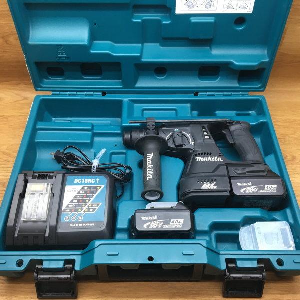 makita マキタ SDSプラス 24mm 充電式ハンマドリル はつり機能付買取しました!