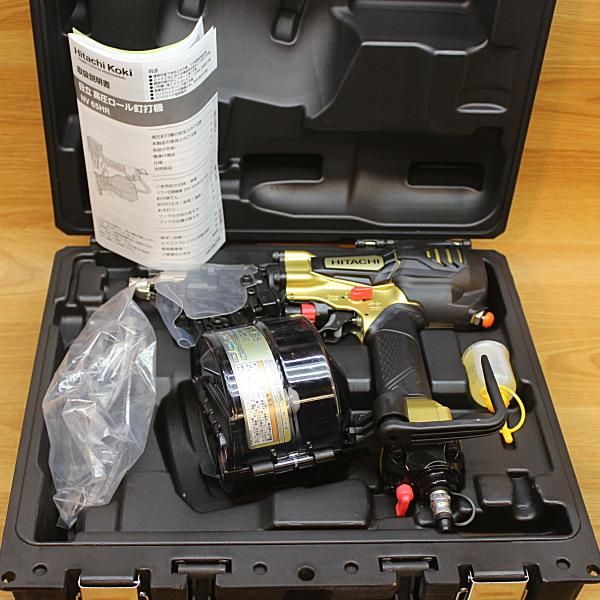 日立 HITACHI  65mm 高圧エア釘打ち機  買取しました!
