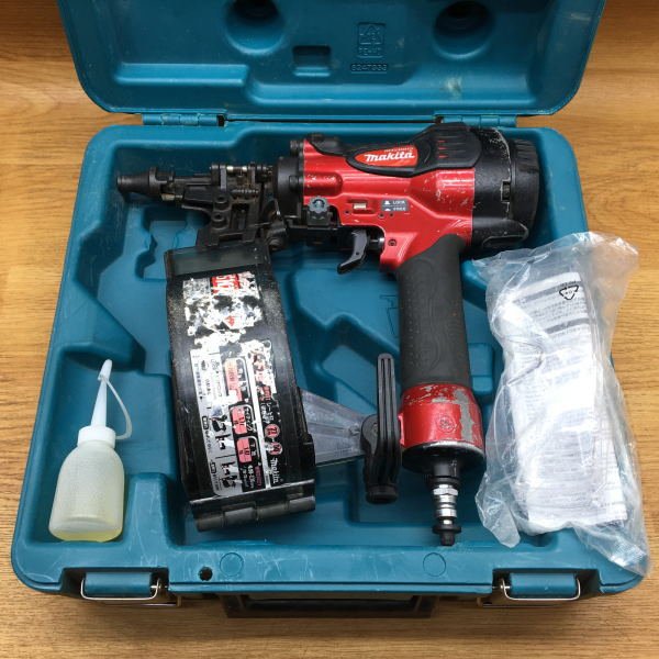 makita マキタ 50mm サイディング用高圧エア釘打機 釘打ち機 買取しました!
