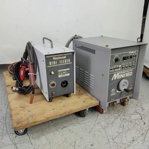 ナショナル パナソニック  160A CO2  MAG  MIG半自動溶接機 買取しました!