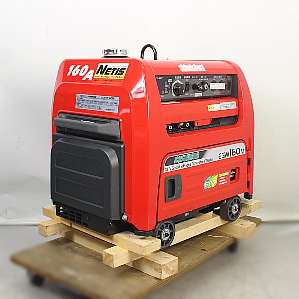 新ダイワ shindaiwa やまびこ 防音型ガソリンエンジン発電機兼溶接機 エンジンウェルダー買取しました!