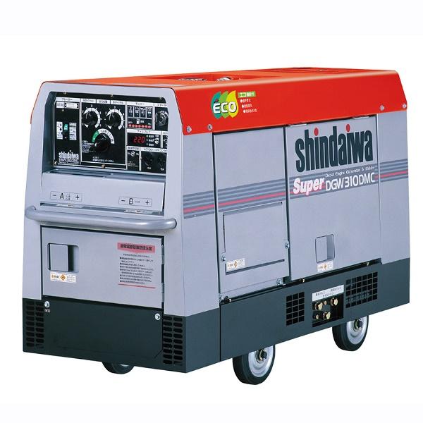 新ダイワ shindaiwa やまびこ 二人用ディーゼルエンジンウェルダー 車輪付買取しました!