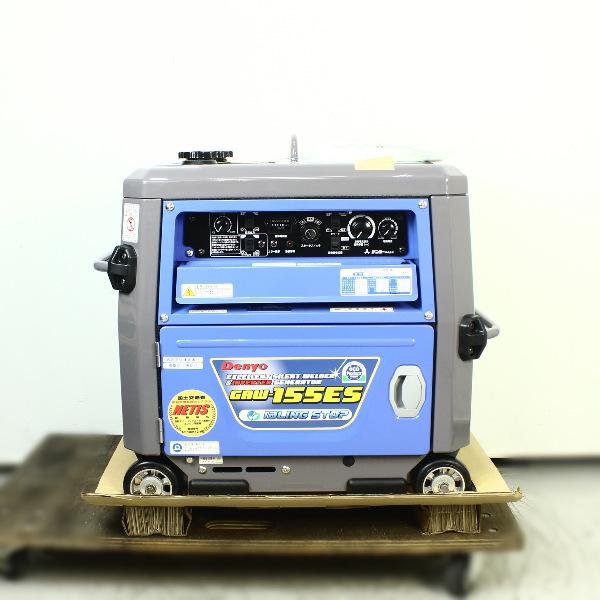 デンヨー DENYO  エンジンウェルダー ガソリンエンジン溶接機  買取しました!