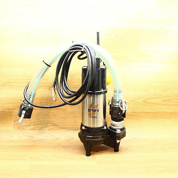川本ポンプ 自動運転型水中ポンプ 口径40mm 100V 60Hz 買取しました!