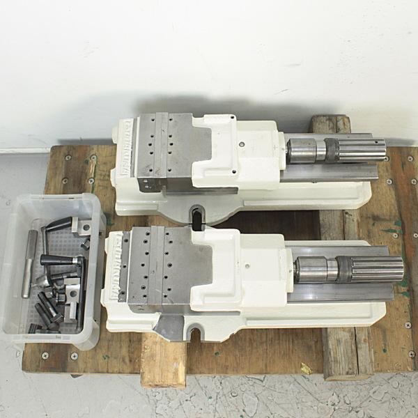 150mm油圧マシンバイス 2台セット
