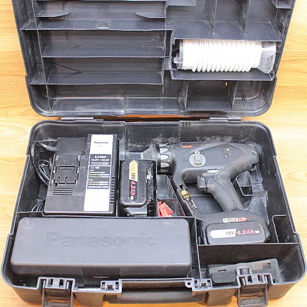 Panasonic/パナソニック  18V デュアル充電マルチハンマードリル BLACK&GOLD買取しました!