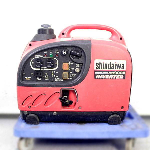shindaiwa/新ダイワ  900kVA インバータ発電機 買取しました!