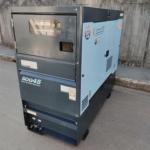 北越工業 AIRMAN 45kVA 37kW  ディーゼル発電機 オイルフェンス一体型  出力100V110V 200V220V 400V440V買取しました!