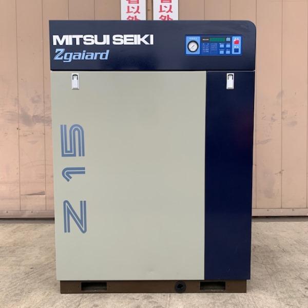 MITSUI SEIKI/三井精機 20馬力スクリューコンプレッサー エアドライヤ内蔵型 Z156AS3-R 2013
