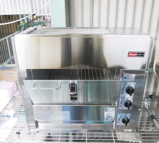 リンナイ ガス両面焼グリラー RGW-2 2014年製
