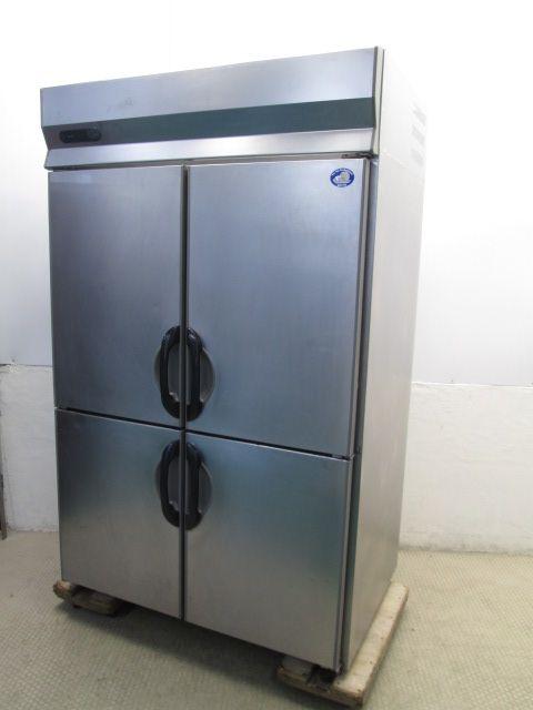 サンヨー 業務用タテ型冷蔵庫買取しました!