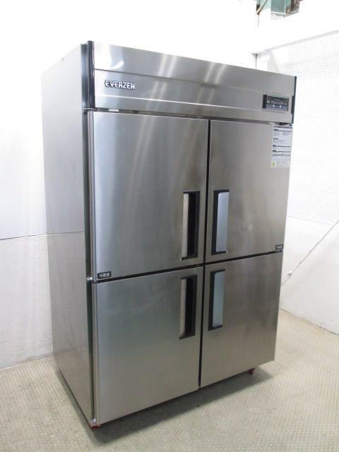 テンポスバスターズ 業務用タテ型冷凍冷蔵庫 TBR-1281S 2013年製