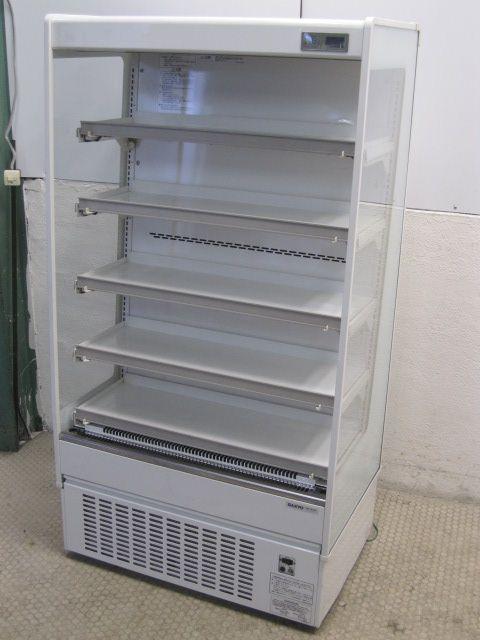 サンヨー 多段オープン冷蔵ショーケース買取しました!