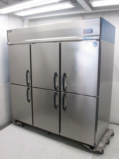 大和冷機 業務用タテ型冷蔵庫買取しました!