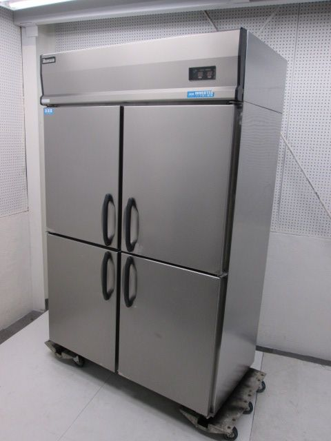 大和冷機 業務用タテ型冷凍冷蔵庫買取しました!