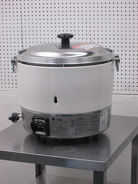リンナイ ガス炊飯器  RR-30S1 プロパンガス 2015年製買取しました!